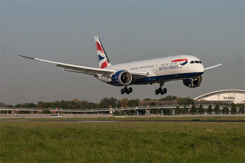 British Airways to introduce the Dreamliner First Class