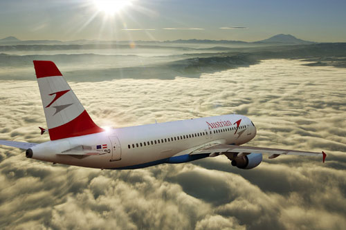 Austrian Airlines is suspending its flights from Kharkov to Vienna starting from November