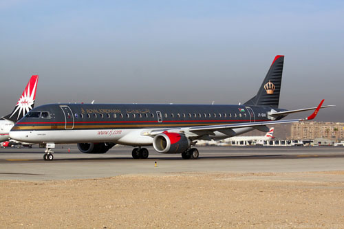 Royal Jordanian has increased the number of flights to Kyiv